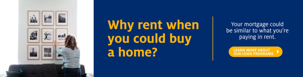Why rent when you could buy a home?