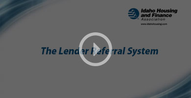 Lender Referral System Video Image